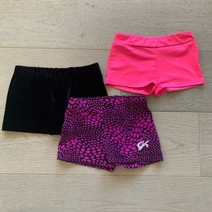 ✨ Set of gymnastics shorts ✨ GK Elite